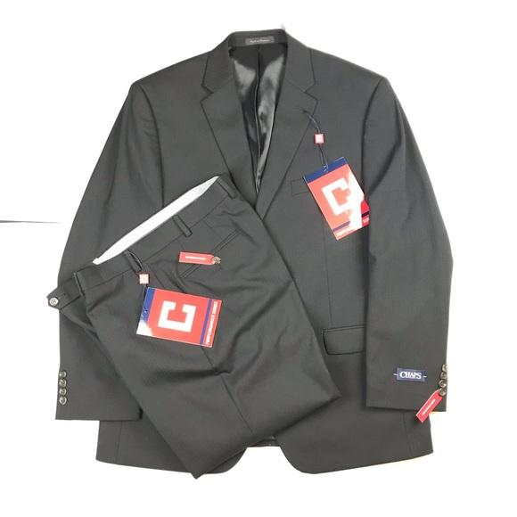 Chaps Other - Black suit chaps new size 44R 36W 34L